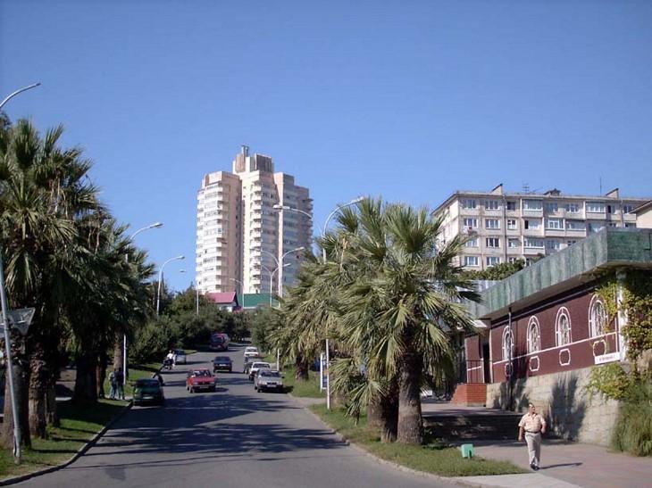 Адлер – южный российский город