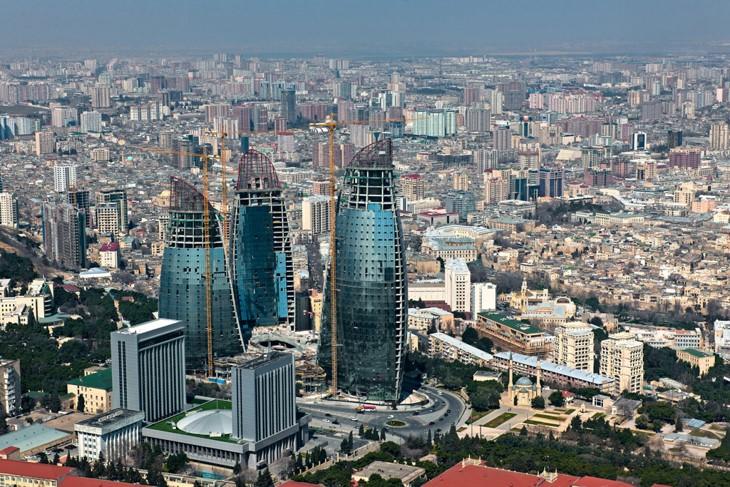 Баку – это крупный город,